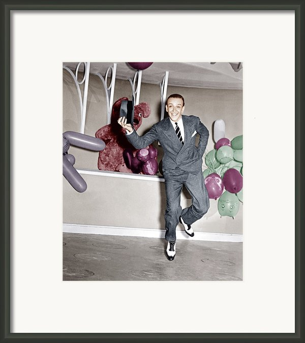 A Damsel In Distress, Fred Astaire, 1937 Framed Print By Everett