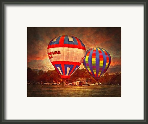 A Day At The Rally Framed Print By Kathy Jennings