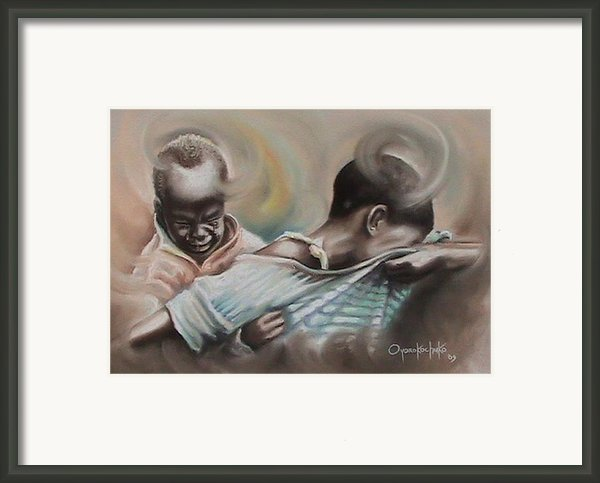 A Day To Remember Framed Print By Oyoroko Ken Ochuko