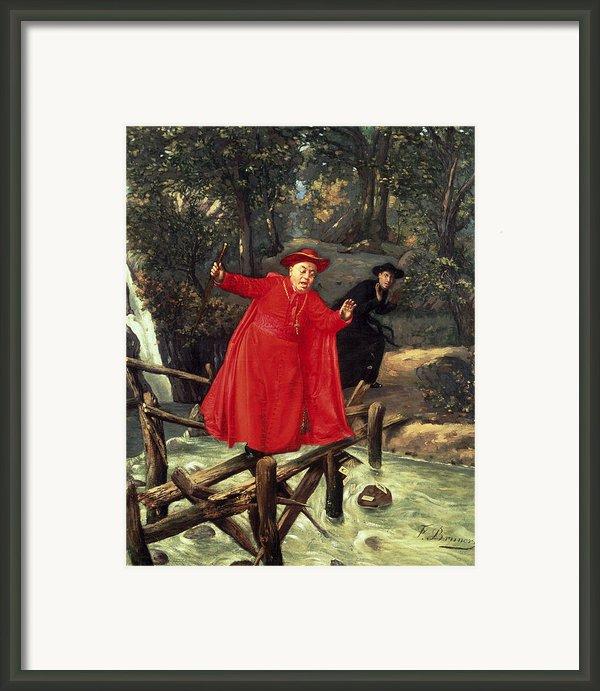 A Delicate Balance Framed Print By Francois Brunery