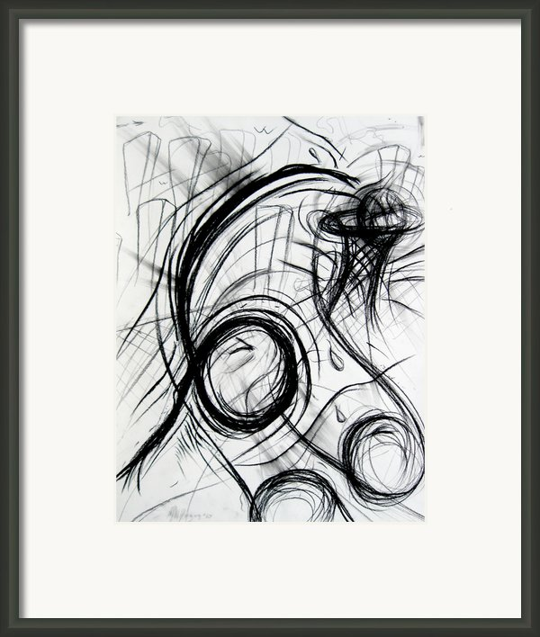 A Dunking Framed Print By Michael Morgan