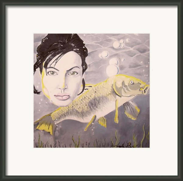 A Fish Named Angelina Framed Print By Joseph Palotas