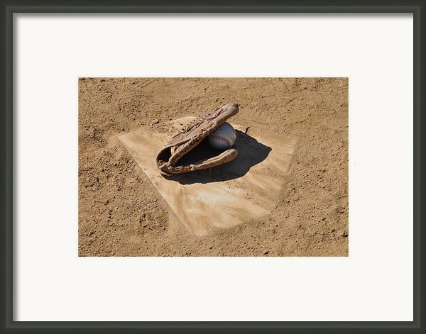A League Of The Own Framed Print By Bill Cannon