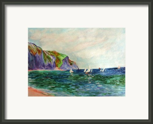 A Little Monet Framed Print By Julie Lueders