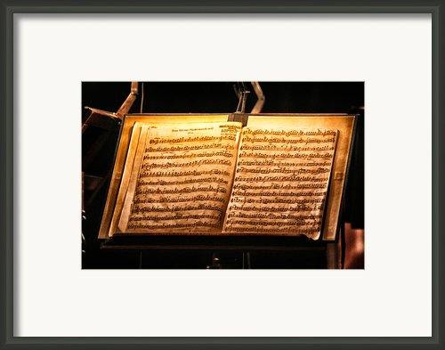 A Little Night Music Framed Print By Lauri Novak