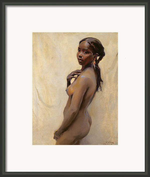 A Marrakesh Girl Framed Print By Philip Alexius De Laszlo