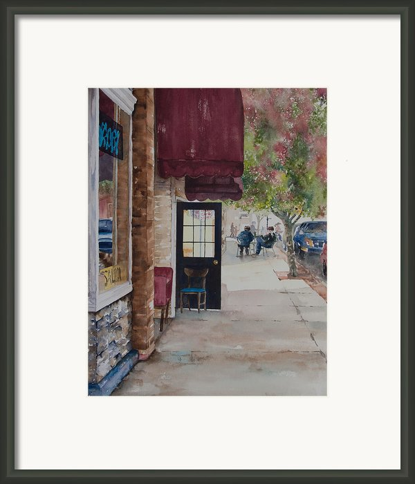 A Morning Cup Framed Print By Amy Caltry