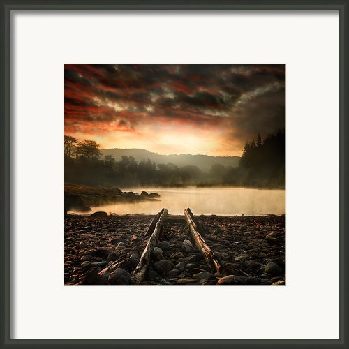 A New Beginning Framed Print By Ian David Soar