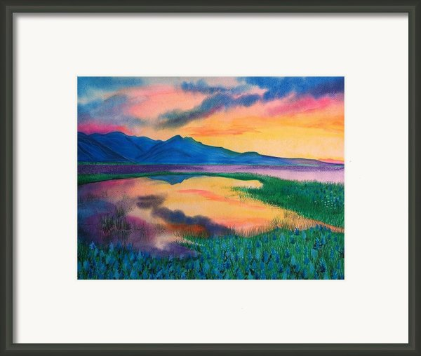 A New Beginning Framed Print By Ramneek Narang