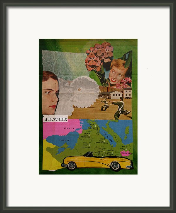 A New Mix Framed Print By Adam Kissel