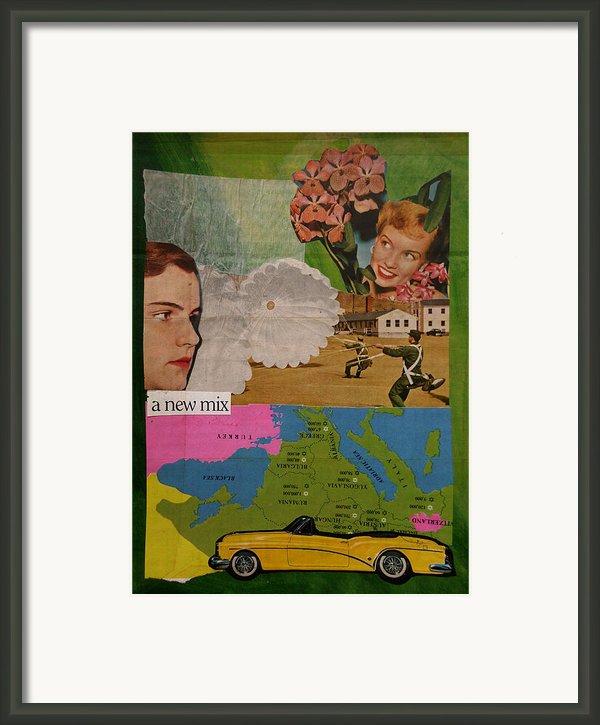 A New Mix Framed Print By Adam Kissel