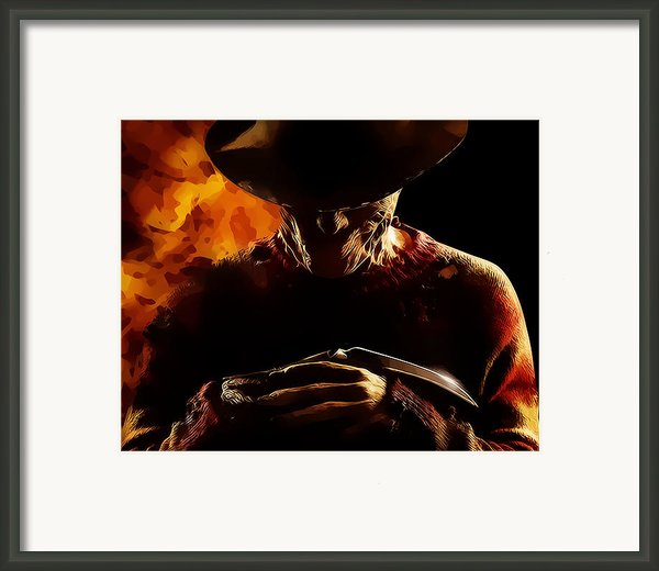 A Nightmare To Dream By Framed Print By Anibal Diaz