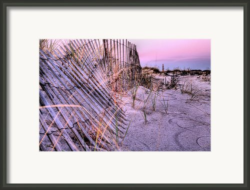 A Pink Sunrise Framed Print By Jc Findley