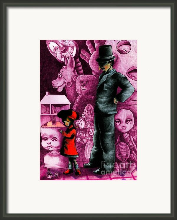 A Place In Funtown Framed Print By Spencer Bower