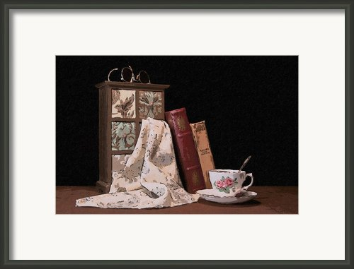 A Relaxing Evening Framed Print By Tom Mc Nemar