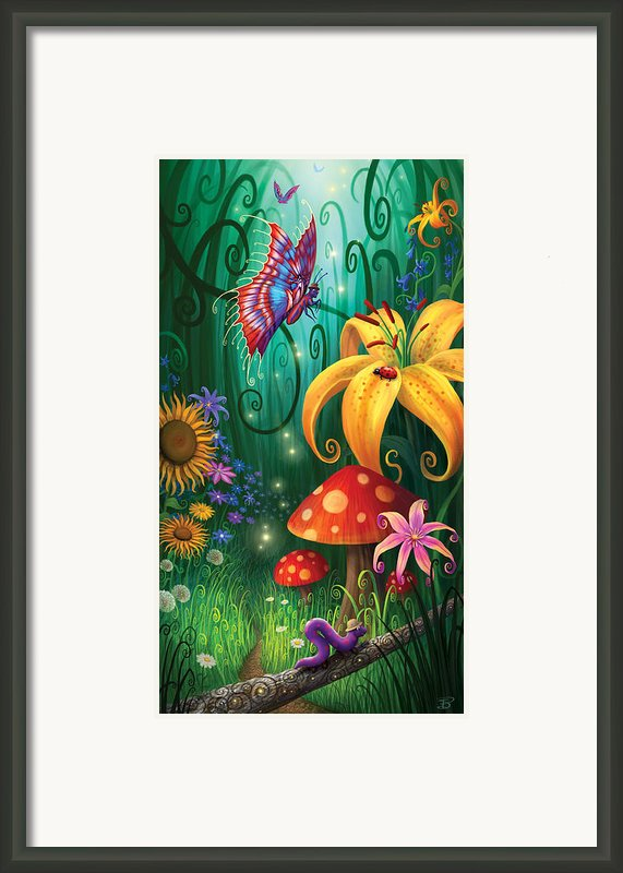 A Secret Place Framed Print By Philip Straub