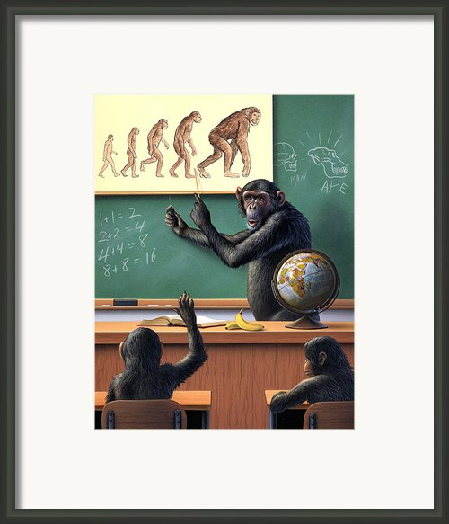 A Specious Origin Framed Print By Jerry Lofaro