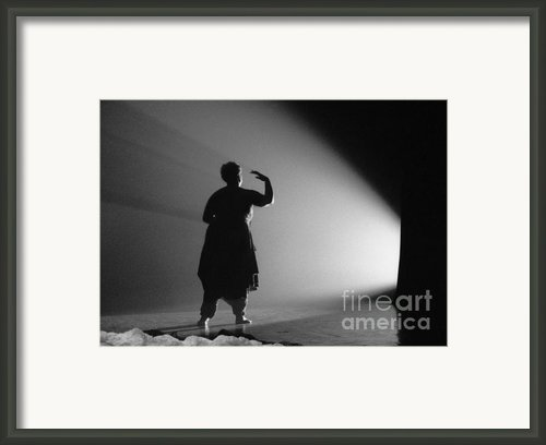 A Step Towards Light Framed Print By Philippe Taka