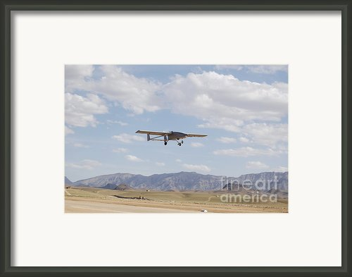 A Tiger Shark Unmanned Aerial Vehicle Framed Print By Stocktrek Images