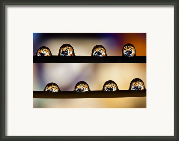 A Treasure Of Dice And Gems Framed Print By Marc Garrido