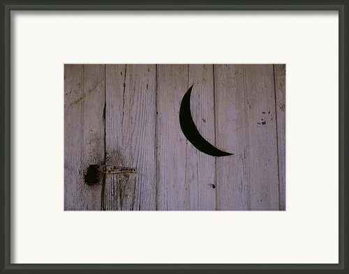 A Universal Symbol For Outdoor Plumbing Framed Print By Stephen St. John