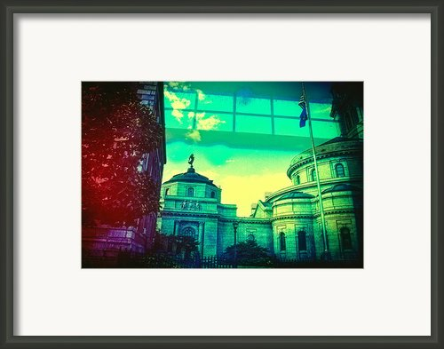 A View Of St Paul Minnesota Framed Print By Susan Stone