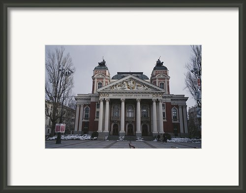 A View Of The National Theater Framed Print By Raul Touzon