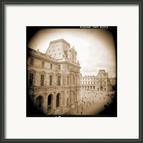 A Walk Through Paris 20 Framed Print By Mike Mcglothlen