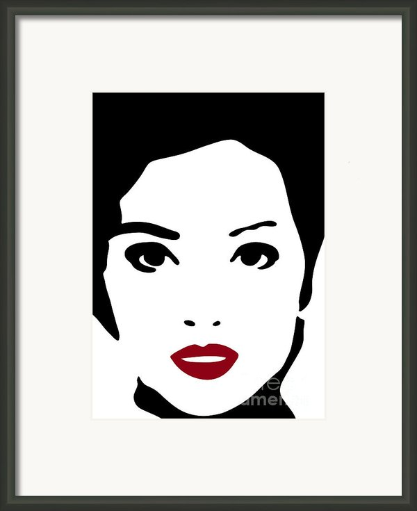 A Woman In Fashion Framed Print By Frank Tschakert
