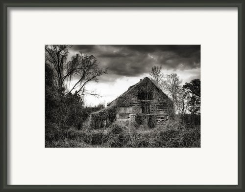 Abandoned Barn Framed Print By Brenda Bryant