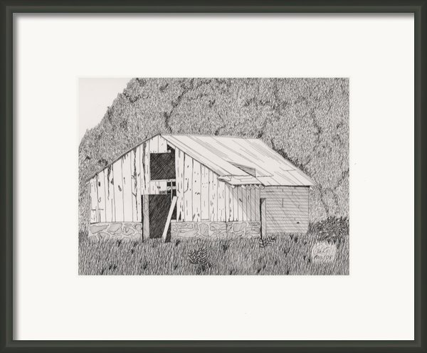 Abandoned Dairy-oklahoma Framed Print By Pat Price