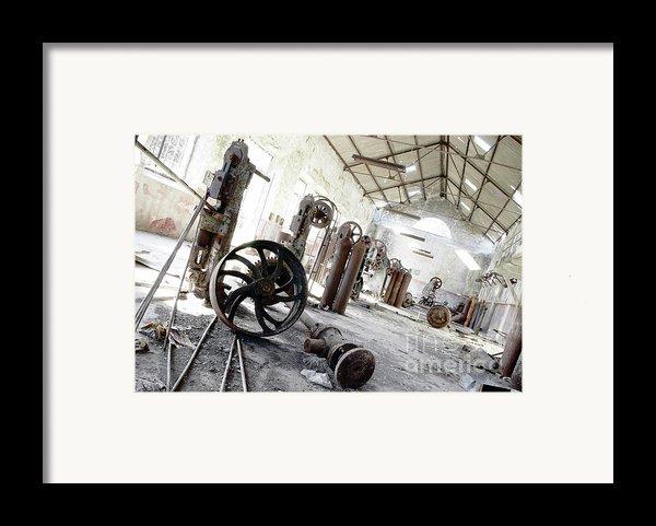 Abandoned Factory Framed Print By Carlos Caetano