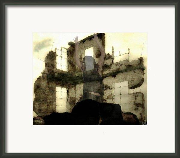 Abandoned House Framed Print By Gun Legler