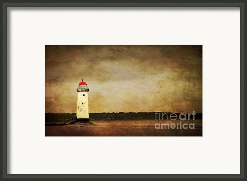 Abandoned Lighthouse Framed Print By Meirion Matthias