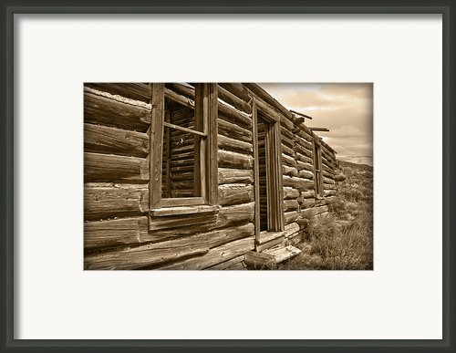 Abandoned Framed Print By Shane Bechler