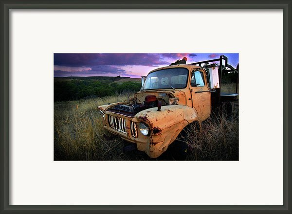 Abandoned Framed Print By Tim Nichols