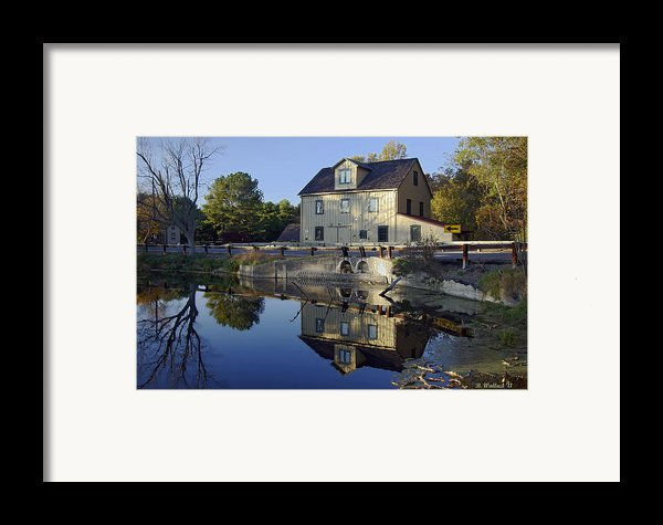 Abbotts Mill Framed Print By Brian Wallace