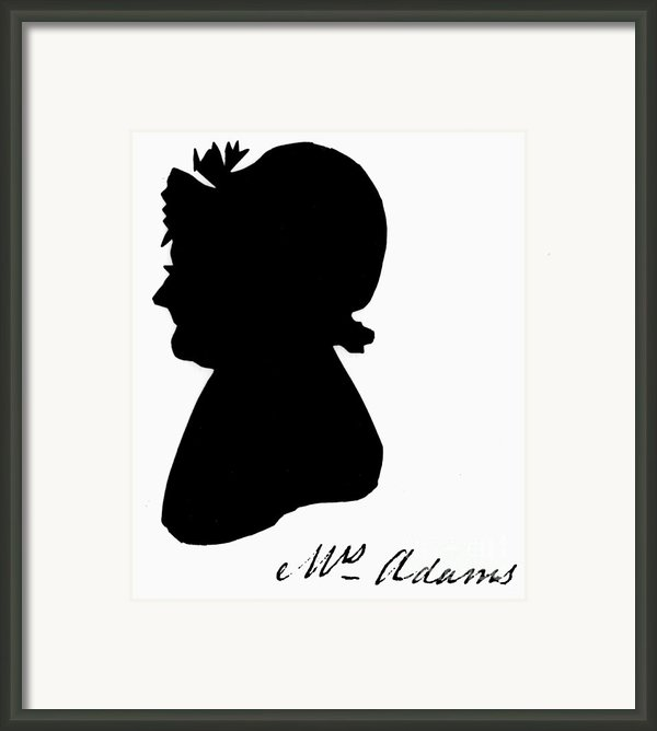 Abigail Adams Framed Print By The Granger Collection