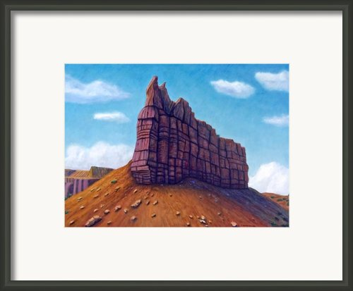 Abiquiu Framed Print By Brian  Commerford