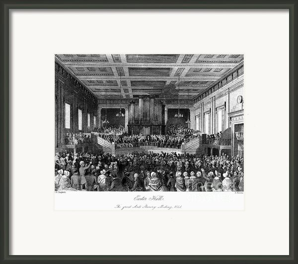 Abolition Convention, 1840 Framed Print By Granger