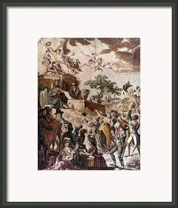 Abolition Of Slavery, 1794 Framed Print By Granger