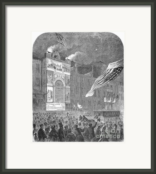 Abolition Of Slavery, 1864 Framed Print By Granger