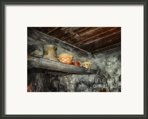 Above The Stove Framed Print By Jutta Maria Pusl