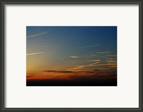Above Us Only Sky Framed Print By Dean Harte