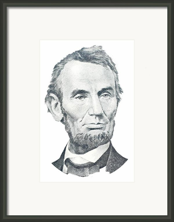 Abraham Lincoln Framed Print By David Houston