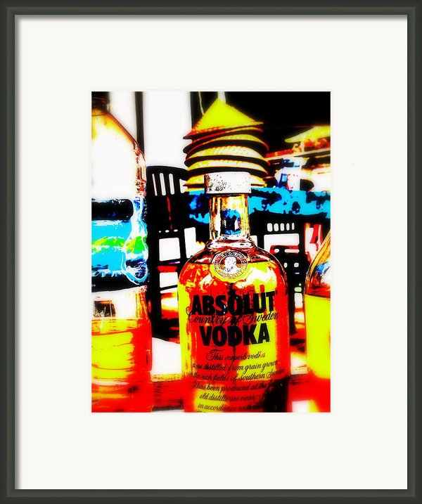 Absolut Gasoline Refills For Bali Bikes Framed Print By Funkpix Photo Hunter