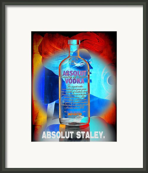 Absolut Psychedelic Framed Print By Chuck Staley