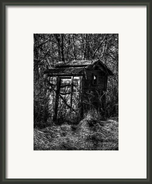 Absorbed By Time Framed Print By Thomas Young