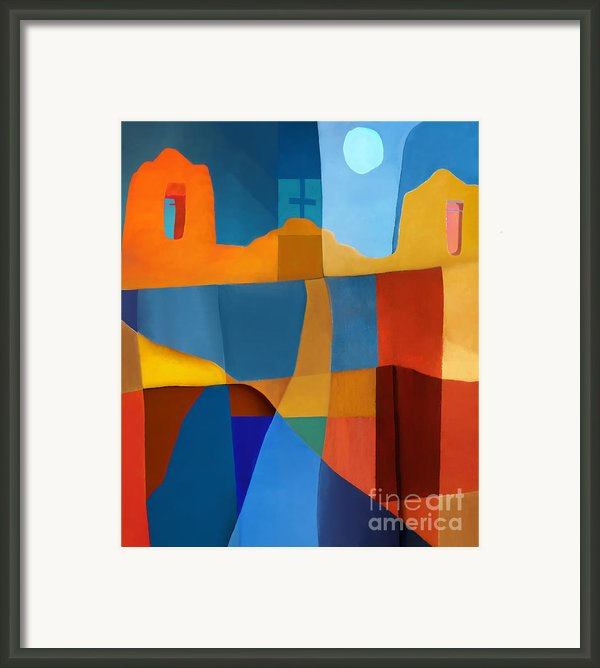 Abstract # 2 Framed Print By Elena Nosyreva