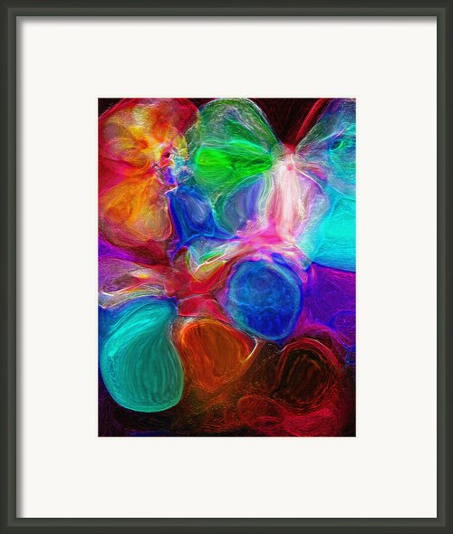 Abstract - Amoeba Framed Print By Steve Ohlsen